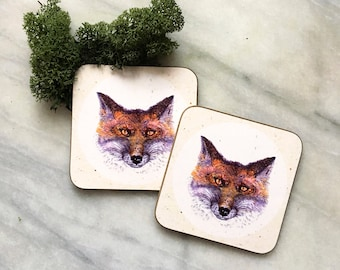 red foxy - coasters