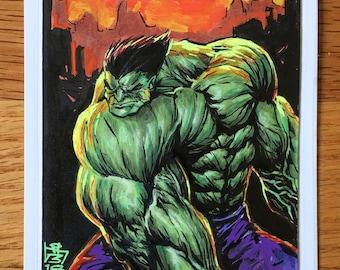 Hulk - Art Print