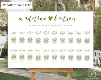 Wedding Seating Chart Template Seating Template diy seating