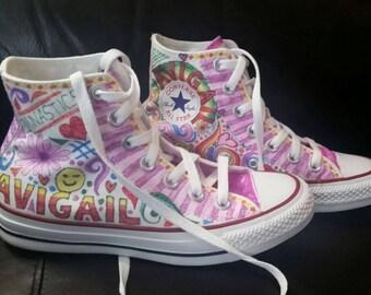 Children's Custom Illustrated Converse Sneakers