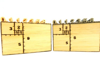 Fibonacci, Fibonacci Series, Fibonacci Sequence, Math Gift, Geometry Gift, Golden Ratio, Golden Ration Number, Golden Mean, Golden Rule