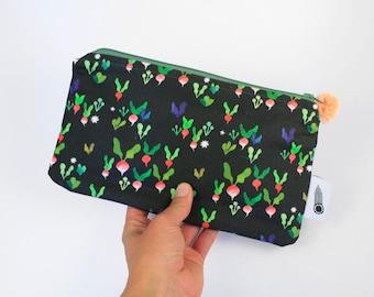 Tiny Veggies Zipper Bag