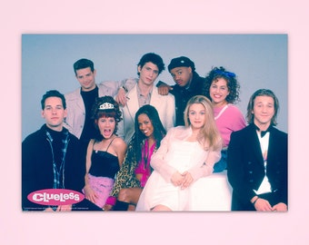 """Clueless Poster, """"Kids in America"""", Cher Clueless, Officially Licensed, Movie Poster"""
