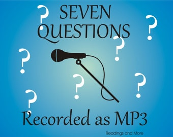 7  Questions Answered by recording MP3 file emailed