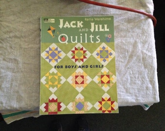 Jack and Jill Quilts for boys and girls.  R.Warehime - pre-owned