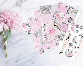 Paeonia - Kit (for Erin Condren vertical Planner)