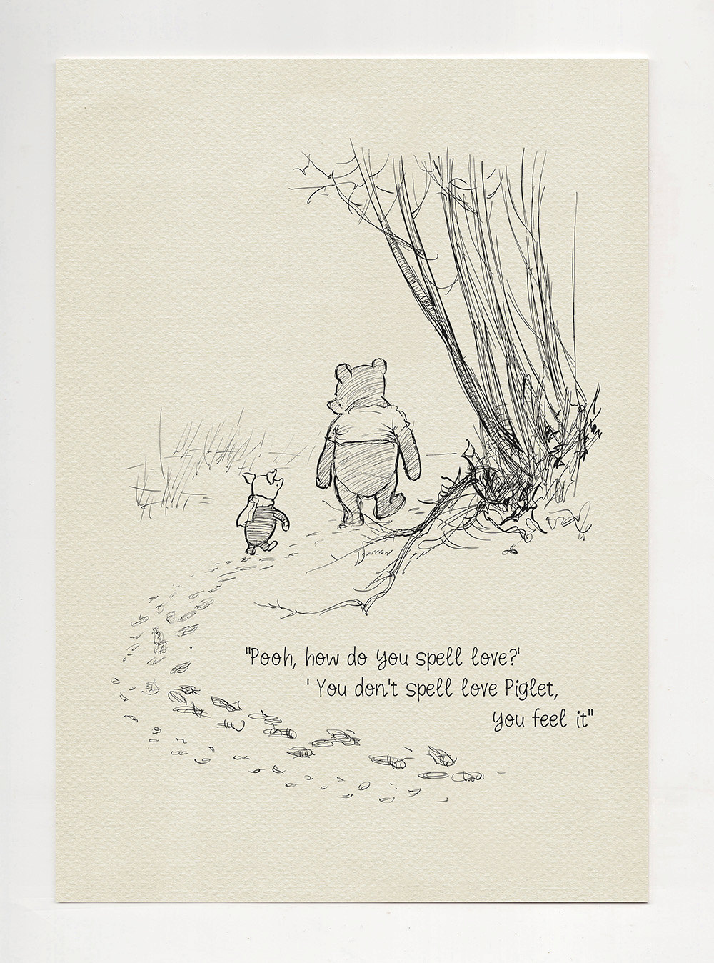 Pooh Love Quotes Cool Pooh How Do You Spell Love Winnie The Pooh Quotes