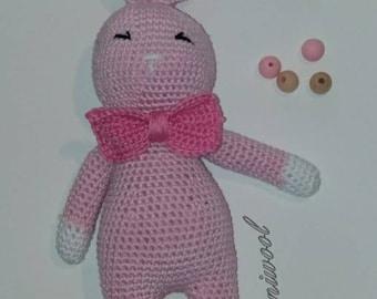 Amigurumi Animal Little Pink Rabbit