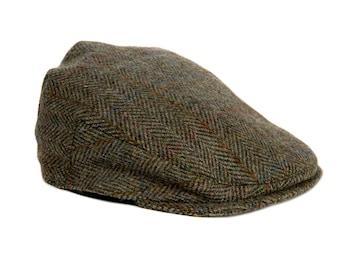 Flat Cap Harris Tweed