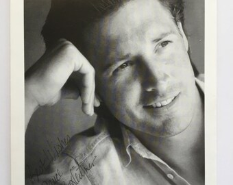 Bruce Boxleitner Press Photo 5x7inches Black and White Photograph - Vintage 1990s