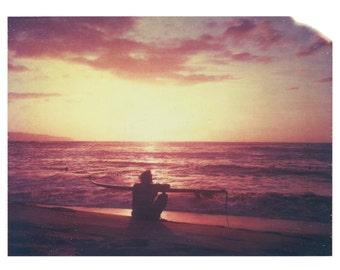 "Hawaii Oahu Surfing Ocean North shore Matt Schwartz Print 8""x10"""