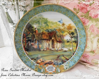 Home Sweet Home Plate,From The Times of Our Lives Collection, Decorative Plate, Designer Style, Numbered Plate, ECS