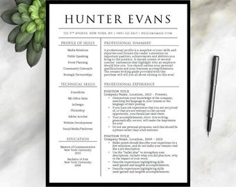 resume template for word 1 2 pageprofessional resume template cover letter instant - Professional Nurse Resume Template