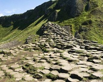 photograph picture print Ireland Giant's Causeway landscape