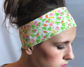 Spring Floral Headband Clearance