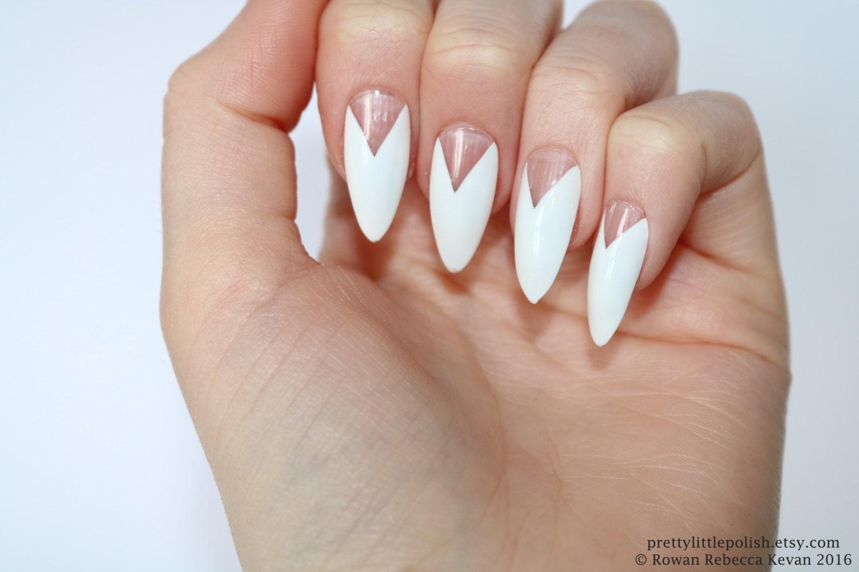 White french stiletto nails, Fake nail, Stiletto nail, Kylie jenner ...