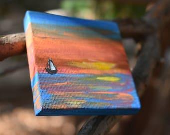 Mini Landscape: Sailboat