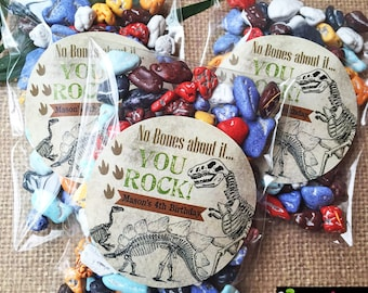 Dinosaur Party, Dinosaur Stickers, Dinosaur party favors, Dino Dig Stickers, Dinosaur Birthday party, Dinosaur Fossils, favor labels