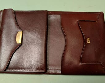 Prince Gardner Polished Cowhide Registrar billfold wallet c 1960