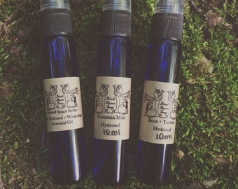 Herbal Hydrosol - Choose from Sage, Rose+Yarrow, or Mountain Mint