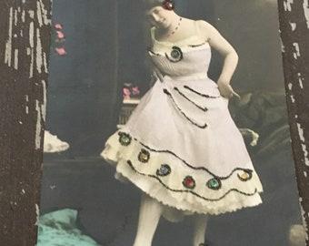 Vintage Risque Lucie Koning Unused Postcard
