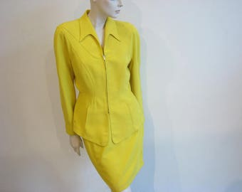 Vintage suit by Thierry Mugler