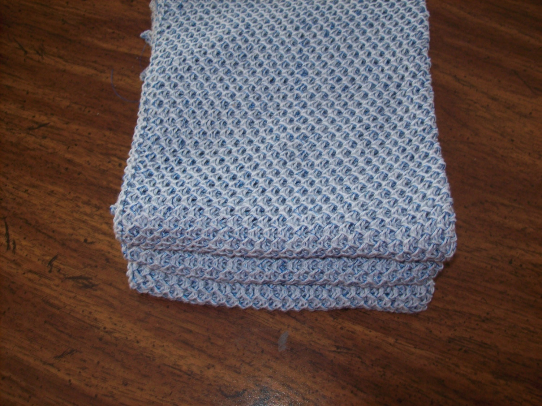 Tuck Dishcloth Pattern, Tuck WashCloth Pattern, Machine Knitting ...
