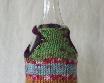 Wine Bottle Cover and Hat (wine bottle bling)