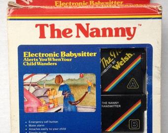 The Nanny electronic babysitter vintage
