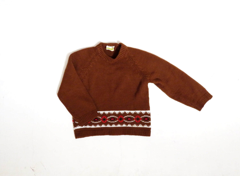 1970's Youngblood's brand sweater/100 %Acrylic/Geometric Design CMAjQ
