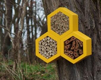 BEE HOTEL, Insect house, Mason bee home - Trianglehotel Dijon