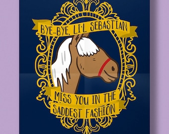 5000 Candles in the Wind Poster | Lil Sebastian | Parks and Recreation | Art Print Matte Finish