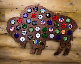Buffalo Beer Cap Trap - Craft Beer Gifts