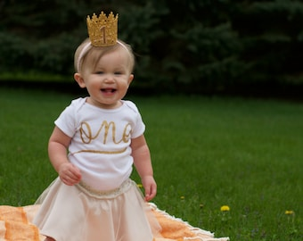 First Birthday Shirt -- Birthday Party Outfit