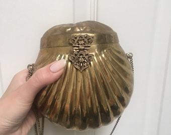 Brass Clutch Hard Structured Shell