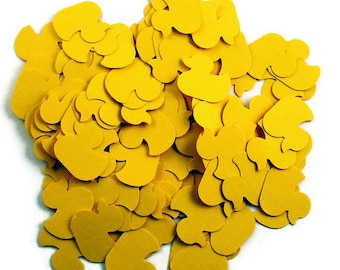 Confetti  Lucky Ducky  in  Sunny Yellow Quantity 300 Pieces