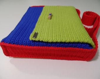 """Children's shoulder Bag """"Linda"""" in 4 colors crochet for """"all cases"""""""
