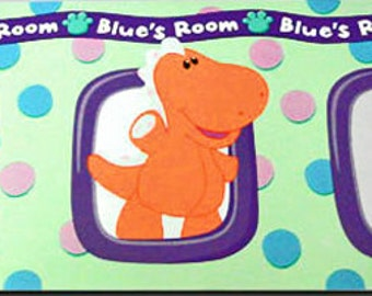 Blues Clues Prepasted Wall Border for Walls or Crafts