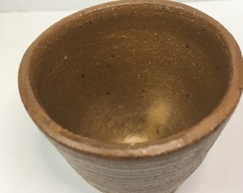 Tiny Brown Cup