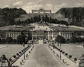 Vienna, Austria. Schonbrunn. Imperial architecture.