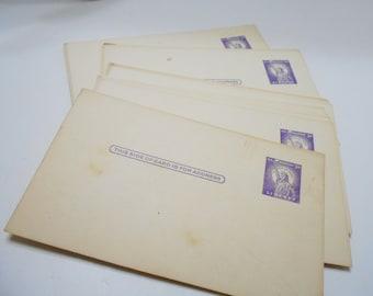 Vintage Three Cent Liberty Stamped Post Cards (1801) Thirty-Three (33) Unused