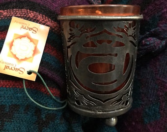 Sacral Chakra Second Chakra Votive Candle Holder