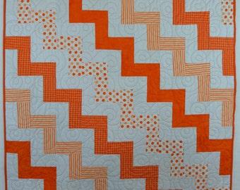 Orange Lifesaver Quilt