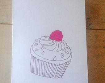 Simple birthday card etsy happy birthday card simple birthday card happy birthday friend birthday cardfamily bookmarktalkfo Image collections