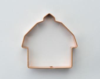 Barn cookie cutter by ecrandal copper cookie cutters, Farm cookie cutter