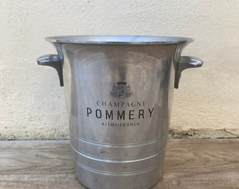 Vintage French Champagne French Ice Bucket Cooler Pommery 1305184