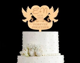 Dove cake topper | Etsy