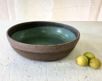 Ceramic bowl, Large bowl, Fruit bowl, Salad bowl, large baking dish, Pottery bowl, serving bowl, centerpiece bowl ,Open bowl, baking pan