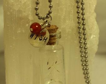 WISH Necklace with Carnelian
