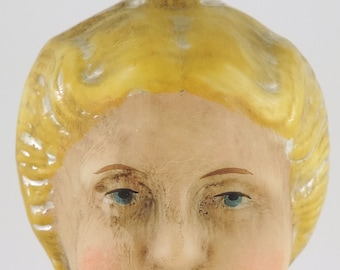 Marolin Glass Reproduction Ornament DoppelGesicht (Double Face) 2011 2-Sided